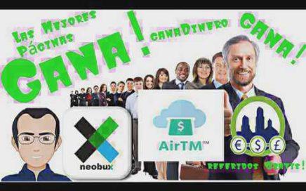 Noticias Pagos Por Airtm Para Neobux la Mejor Página para Ganar Dinero Por Internet |Ralex85