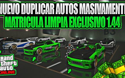*NUEVO TRUCO GTA 5 ONLINE1.44 AFTER PATCH*DUPLICAR MASIVAMENTE PS4 XBOX ONE!