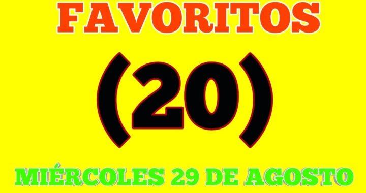 NÚMEROS FAVORITOS PARA HOY MIÉRCOLES 29/08/2018 BINGOOOOO COM EL 100 PALE SEGURO!!!!