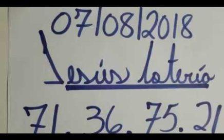 NÚMEROS PARA HOY 07/08/18 DE AGOSTO PARA TODAS LAS LOTERÍA !!!