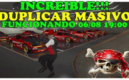 (PARCHEADO)COMO duplicar masivo hasta 20 coches de una vez. FUNCIONANDO!!!! TRUCO GTA 5 GLITCH