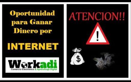 (QUE ES WORKADI) DINERO POR INTERNET - COMO GENERAR INGRESOS  - NEGOCIOS RENTABLE