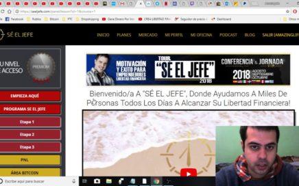 RECIBO MI PAGO DE SÉ EL JEFE! COMO GANAR DINERO POR INTERNET!