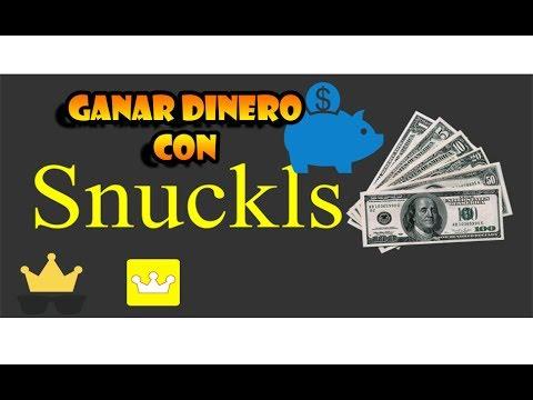 Snuckls / Ganar Dinero $ Viendo Videos De Youtube / 2017! Gana Hasta 2000$ En Un Dia :D