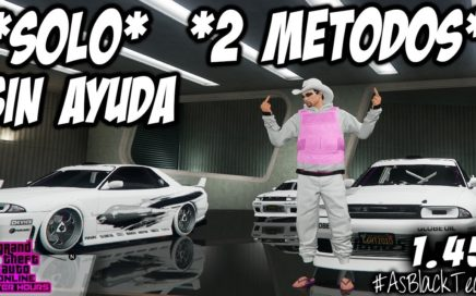 *SOLOS - SIN AYUDA* - DUPLICAR COCHES MASIVO - GTA V 1.45 - 2 MÉTODOS DIFERENTES - !PARCHEADO!