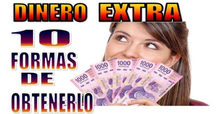 10 FORMAS DE PONER DINERO EXTRA EN TU BOLSILLO