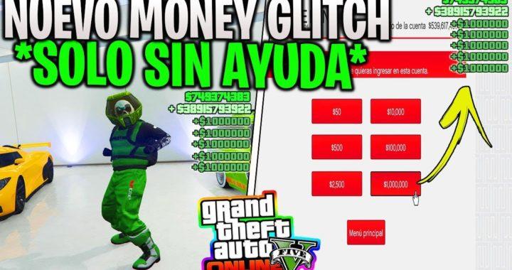 APURATE!! NUEVO DINERO ILIMITADO [SOLO SIN AYUDA] MONEY GLITCH EN GTA V ONLINE