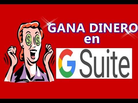BENEFICIOS DE G-SUITE/GANA DINERO DESDE CUALQUIER LUGAR!
