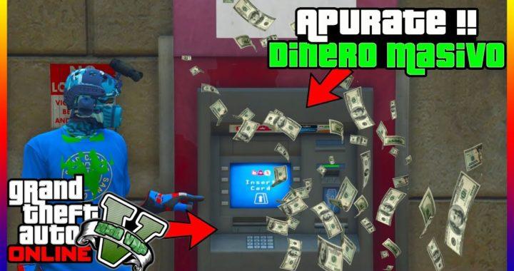 """BESTIAL !! COMO SER MILLONARIO SUPER RAPIDO EN """"GTA V ONLINE"""" DINERO INFINITO"""
