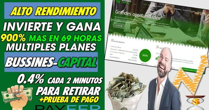 BUSSINES-CAPITAL| INVIERTE Y GANA HASTA UN (SCAM ESTAFA - NO PAGA)