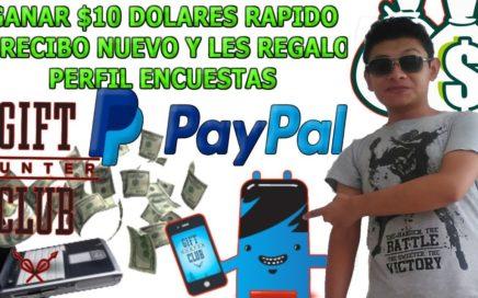 Cómo ganar $10 dolares por internet rapido para paypal con esta brutal pagina