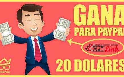 COMO GANAR 20 DOLARES DIARIOS PARA PAYPAL | SEPTIEMBRE 2018