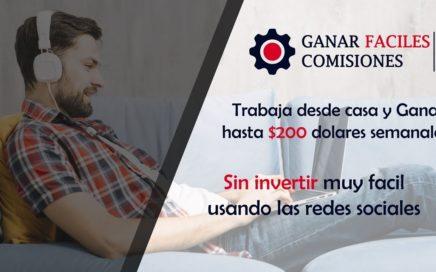 Como ganar 200 dolares semanales sin invertir (earn easy commissions)