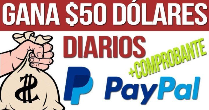 Como ganar 50 dolares sin hacer nada - paypal