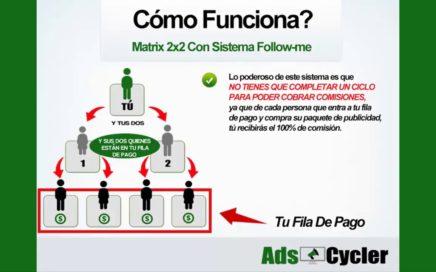 Como ganar Dinero con Ads Cycler Presentacion Completa