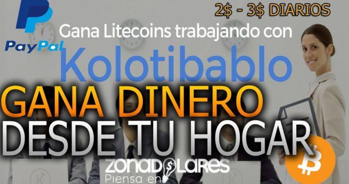 COMO GANAR DINERO DESDE CASA VENEZUELA 2018 DE 2$ a 4$ DOLARES DIARIOS =  250BS.S DIARIOS