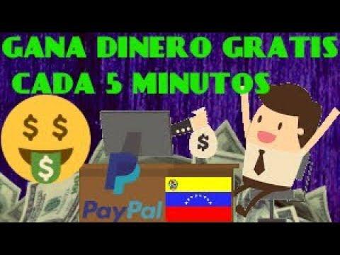COMO GANAR DINERO EN 5 MINUTOS POR DÍA | LA Pagina MAS CONFIABLE | FACIL VENEZUELA 2018 2019