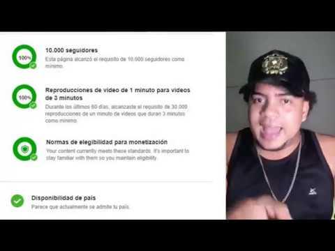 Como Ganar Dinero En Facebook Con Tu Videos (Monetizar en facebook 2018)