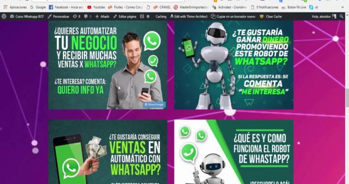 Cómo Ganar Dinero En Internet Con el Robot de Whatsapp 2X - Video #1