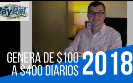 Como Ganar Dinero en Internet Sencillo $100 O MAS DIARIOS 2018 No Multinivel ni Piramide