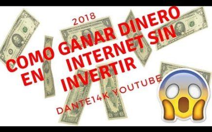 COMO GANAR DINERO EN INTERNET SIN INVERTIR USANDO LAS [REDES SOCIALES]