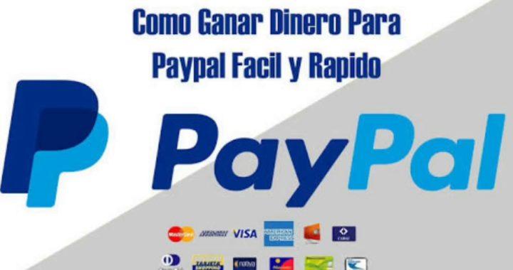 COMO GANAR DINERO PARA PAYPAL FÁCIL Y RRAPIDO 2018