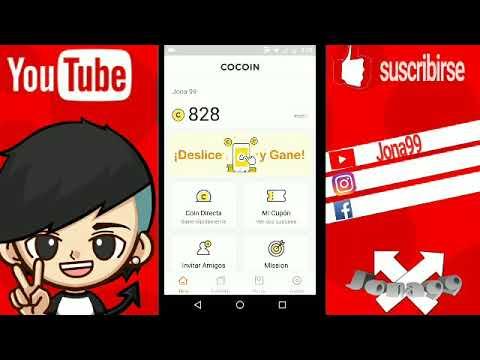 Como ganar dinero Paypal, Google play, Xbox,Netflix!!!(cocoin) #cocoin