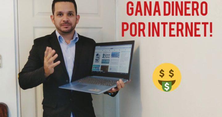 Como Ganar Dinero Por Internet / Como Ganar Dinero Online 2018/ $300 Por Día!