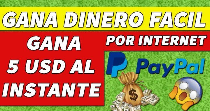 COMO GANAR DINERO POR INTERNET SIN INVERTIR SEPTIEMBRE 2018 - GANA 5 DOLARES INSTANTÁNEAMENTE