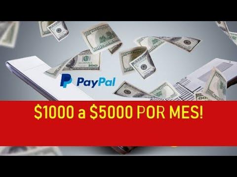 Cómo Ganar Dinero Por Paypal $1000 -$5000 Por mes | Como Usar Paypal Para Ganar Dinero Por Internet