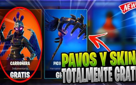COMO OBTENER PAVOS ILIMITADOS DE FORMA (LEGAL) Y SKINS TOTALMENTE GRATIS EN FORTNITE BATTLE ROYALE