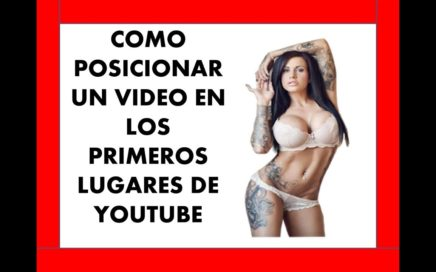 como POSICIONAR video en primeros lugares YOUTUBE [ESTRATEGIA DE LA COLA LARGA]