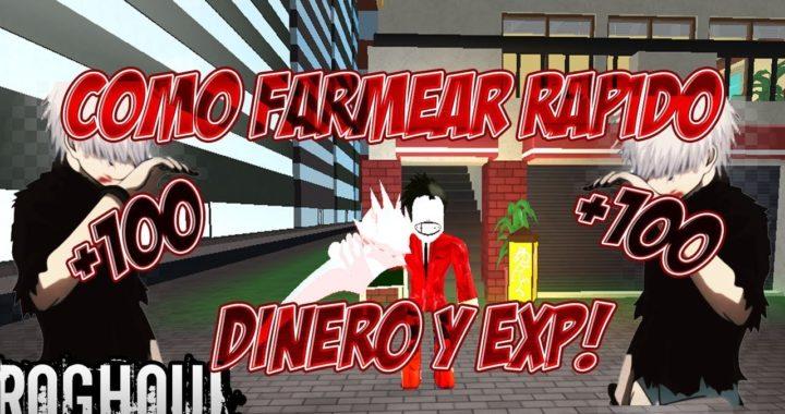 COMO SUBIR RAPIDO DE NIVEL Y DINERO EN RO-GHOUL VERSION ACTUALIZADA NIVEL +100 (ESPAÑOL) (AUTOCLICK)
