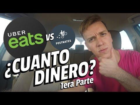 ¿Cuánto dinero se gana con UBER EATS? vs POSTMATES - 1era Parte