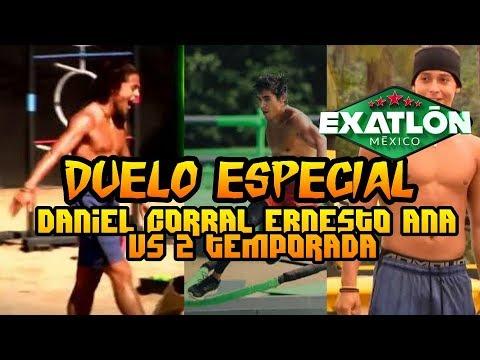Daniel corral ana lago y ernesto Muy pronto En Exatlon México habrá un duelo especial  Regreso épico