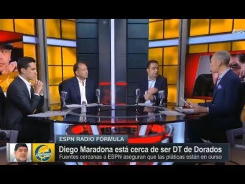 Destrozan A Maradona, Solo Viene A Ganar Dinero Es Un Tecnico Fracasado Y Enfermo