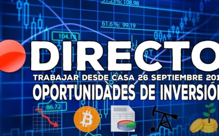 Directo: Oportunidades de Inversión en Bolsa -  Bitcoin, Apple, Tesla, Jack Ma, Amazon... y más.