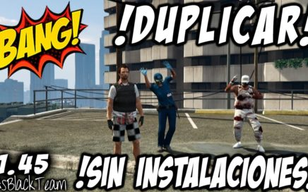 *DUPLICAR COCHES SIN INSTALACIONES* - GTAV 1.45 - PLACAS LIMPIAS - SUPER FACIL - (PS4 - XBOX One)