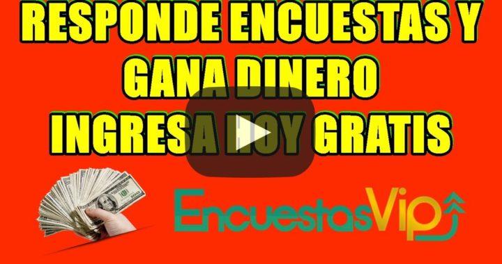 ENCUESTAS GRATIS Online para GANAR DINERO DESDE TU CASA!!