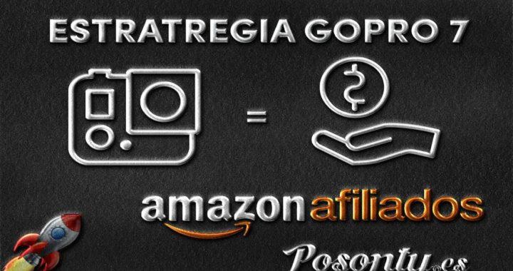 Estrategia para ganar dinero con el posicionamiento de la GoPro HERO7 Black