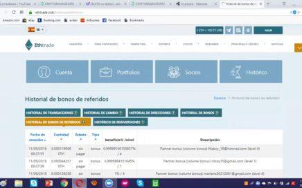 #ETHTRADE Club   Interés Compuesto   ROI 20%   25% Mensual