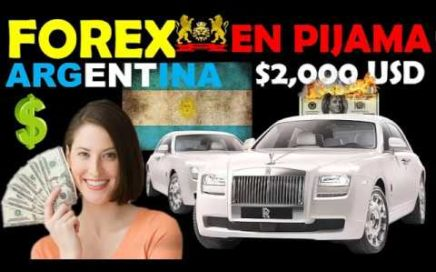 FOREX EN PIJAMA ARGENTINA - testimonio real de $30 a $3,000 usd en 2 meses en forex -forex argentina