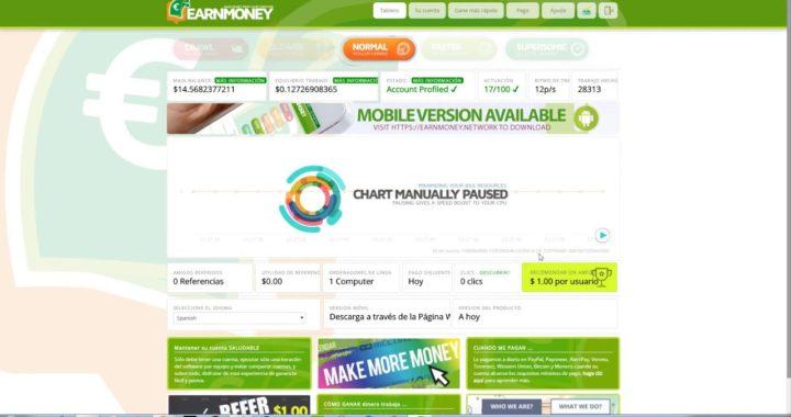 Gana dinero con internet de manera rápida online.