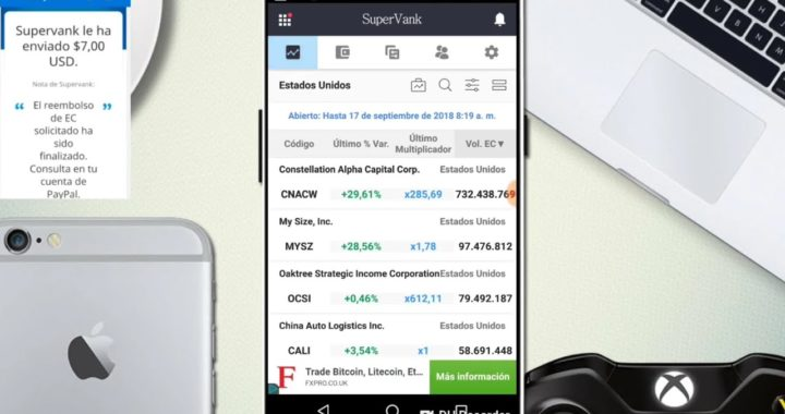 Gana Dinero desde tu celular con SuperVank 2018