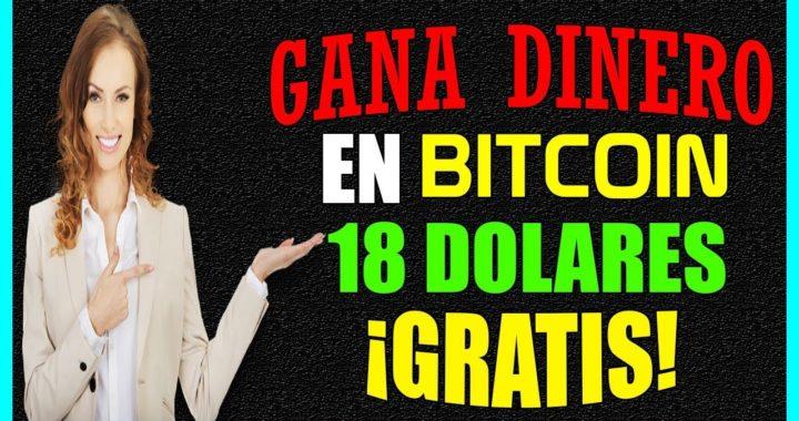 Gana DINERO en Bitcoin GRATIS [18 Dolares 4toPAGO] La Mejor Pagina Pagando en #Bitcoin