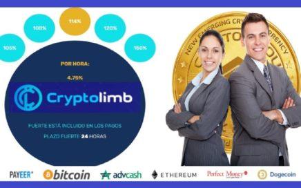 Gana Dinero en CRYPTOLIMB  150% en 24 horas - PAGOS Instantáneos a cada Hora - Recién Lanzada Hoy