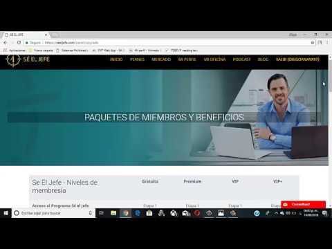 Gana Dinero por Internet- Septiembre 2018- SE EL JEFE