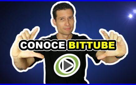Gana dinero por ver videos y subir contenido - Conoce Bittube
