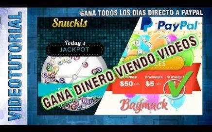Gana dinero viendo videos de Youtube Paga diario directo a Paypal