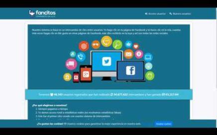 Ganar dinero desde casa a través de Internet con Fancitos recibe 1 euro al registrarse